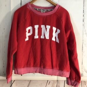 Victoria's Secret PINK • Factory Distressed Crew